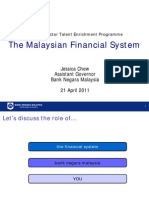 The Malaysian Financial System