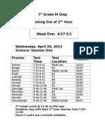 m step 7th grade schedule
