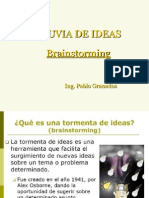 3. Tormenta de Ideas