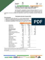 comercial mexicana informacion financiera 1t 2013