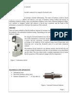 Engineering Materials- Hardness testing