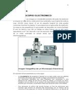 Practica - El Microscopio Electronico