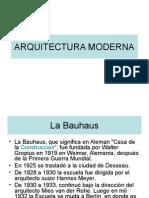 Bauhaus Arq. Moderna