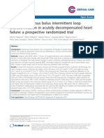 Critical Care Bolus Furosemide 2014