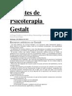 Apuntes de Psicoterapia Gestalt
