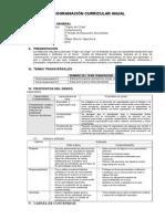Programacion Anual de Comunicacion 2015
