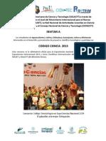 Cientec 2015 Michoacan
