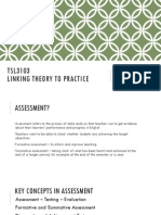 Formative Assessment and Feedback Strategies