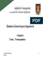 Unidad 6 - Termoquimica