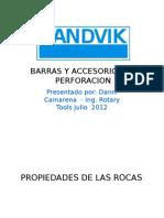 Barras y Accesorios de Perforacion Rotary