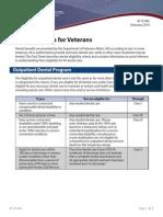 IB10-442 Dental Benefits for Veterans 2 14