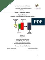 """Practica1 Sensores """"Control KP. Potenciómetro Como Sensor de Posición"""""""