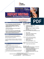 Effective Email and Report Writing Public Program by ITrainingExpert 2015 MR