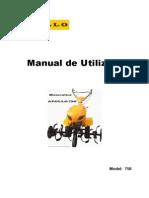 Manual Utilizare Apollo 750