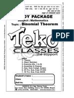 60 Binomial Theorem Part 1 of 2