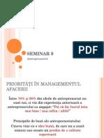 Seminar 9 Antreprenoriat