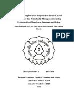Pengaruh Implementasi Pengendalian Internal, Good Governance dan Total Quality Management terhadap Profesionalisasi Manajemen Lembaga Amil Zakat