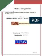 Portfolio Management Reprt