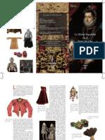 triptico la moda española en el siglo de oro
