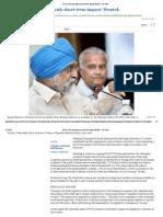 Greece Crisis May Have Only Short-term Impact_ Montek - The Hindu