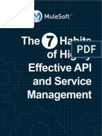 API and Soa 7 Habits