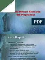 Pengetahuan Dan Hipotesis(1)