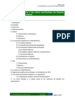 MODULO 2 Tema 3 La Edad Moderna y Las Raíces Territoriales de España.