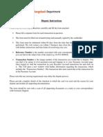 Cardholder Statement of Dispute - US