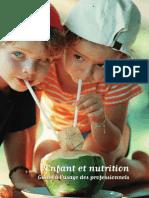 Enfant Et Nutrition One