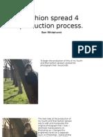 Fashion Spread 4 Production Process