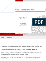04 Public Key Cryptography RSA
