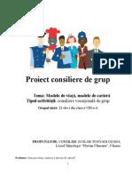 Proiect consiliere vocationala