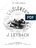 Leybach - 94 L Isolement - R Verie Op.94