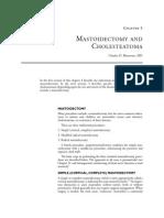 5 Mastoidectomy and Cholesteatoma