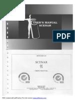 User Manual Scenar