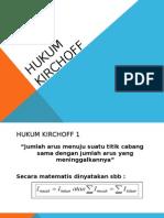 Hukum Kirchoff Ppt