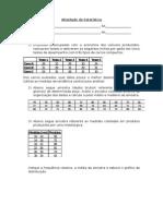 Atividade de Estatística 2014
