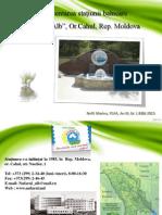 Prezentarea stațiunii balneare Nufărul Alb, Nofit M. Gr. 1, ECTS, Bălți.pdf