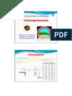 08 Matlab Interpolation