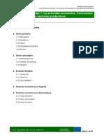MODULO III Sectores Productivos Tema 1