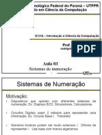 Aula 03 - Sistemas de Numeração