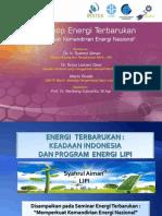 Sahrul Seminar Energi Terbarukan HAKTEKNAS 2012 (PRESENTASI)