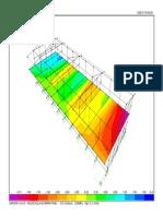 Diagrama Espacial Edificio -Esfuerzos Losa Transversal S12