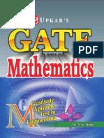 GATE - Mathematics (Maths for GATE exam) ~Stark
