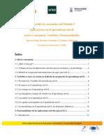 Desarrollo de Contenidos Modulo 5. Aplicaciones en el aprendizaje móvil
