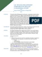 2015 Wilgus Fellowship Announcement