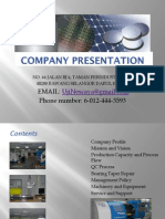 Uji Nescaya Company Process Profile and Presentation