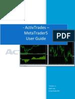 ActivTrades MT 5 User Guide