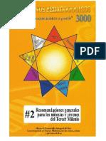 Cuadernillo de pedagogia 3000