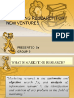 55880996 Marketing Research for New Ventures